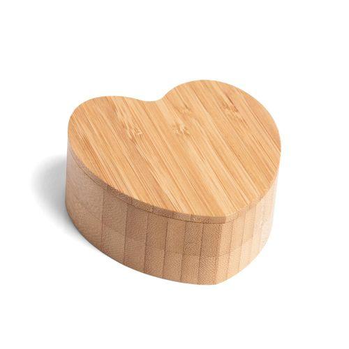 Tudo sobre 'Saleiro em Bambu com Formato Coração'