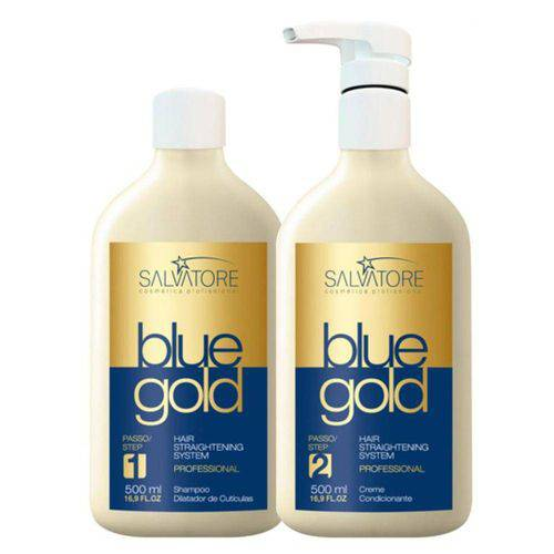 Tudo sobre 'Salvatore Blue Gold Escova Progressiva Italiana (2 X 500 Ml)'