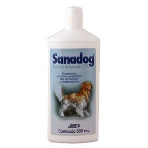 Sanadog Shampoo Dermatológico Cães 500ml - Mundo Animal