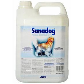 Sanadog Shampoo Dermatológico Cães? 5L _ Mundo Animal