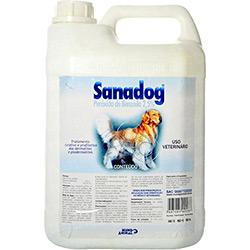Sanadog Shampoo Dermatológico Cães 5L Mundo Animal