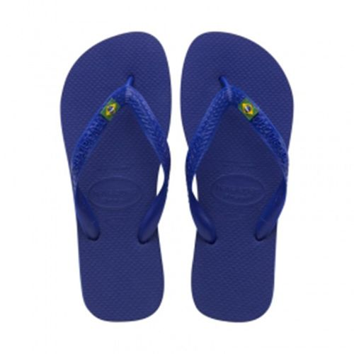 Sandália Havaianas Brasil 1 Par Azul Naval 39/40