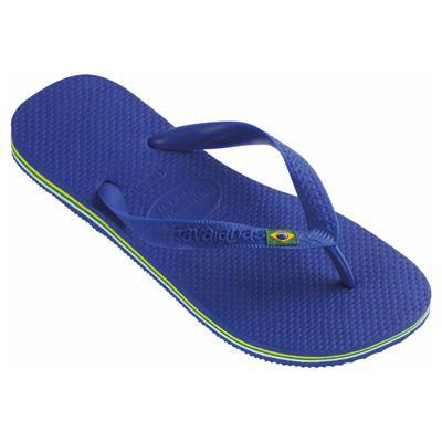 Sandália Havaianas Brasil Azul Naval 33/4