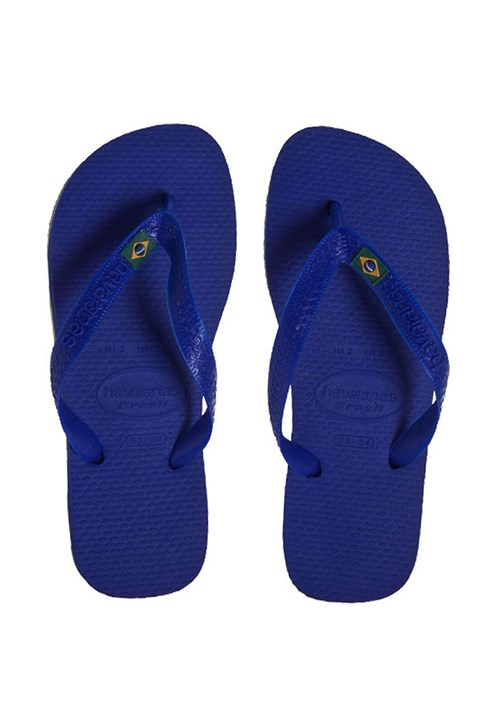 Sandália Havaianas Brasil Azul
