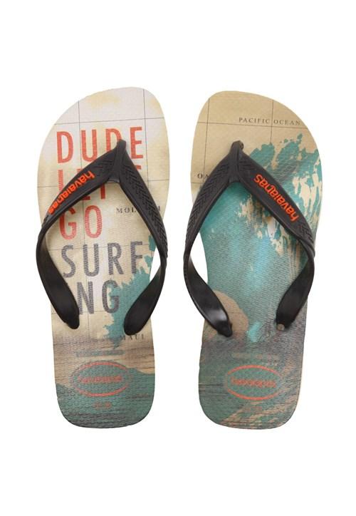 Sandália Havaianas Surf Preta