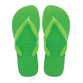 Sandália Havaianas Top - 33-34 - Verde Limão