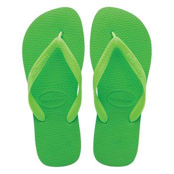 Sandália Havaianas Top Green Neon/Green Tamanho 33/34