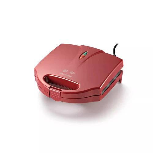 Tudo sobre 'Sanduicheira e Grill 750w Vermelha 220v Multilaser'