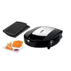 Sanduicheira e Máquina de Waffles com Placas Intercambiáveis - Oster - 127V