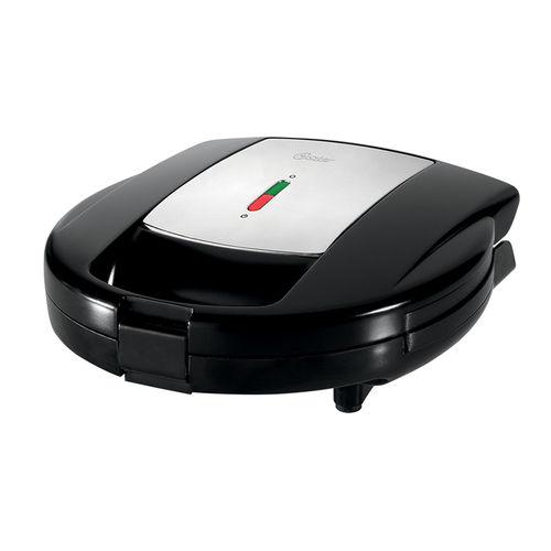 Sanduicheira e Máquina Waffle Oster Chrome Antiaderente