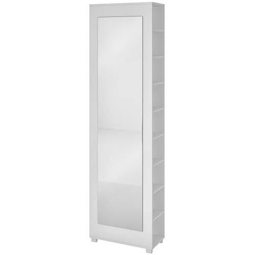 Sapateira Bst 14-06 20 Pares com Espelho Branco - BRV Móveis