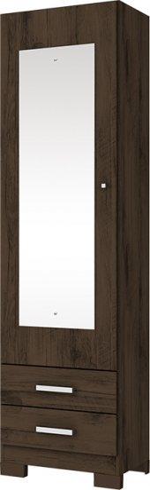 Tudo sobre 'Sapateira Leon 1 Porta Espelho Henn Café'