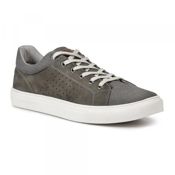Sapatênis Casual Masculino Alidon Cinza - Roed Shoes