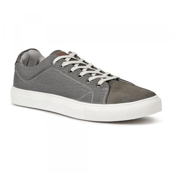 Sapatênis Casual Masculino Alidon Grafite - Roed Shoes