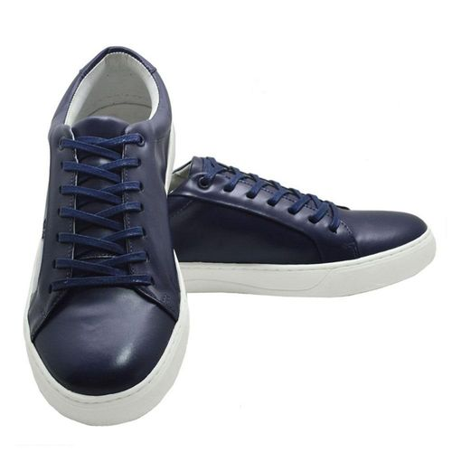 Sapatênis Sapato Masculino Casual Couro Sanravi