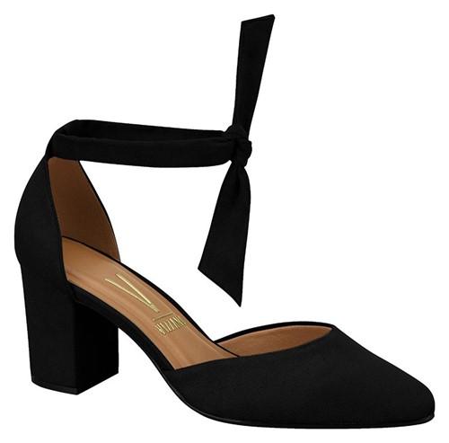 Sapato Bico Fino Vizzano 1290519 Preto