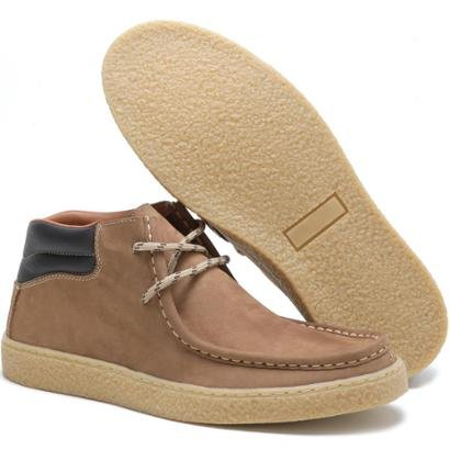 Sapato Casual Couro Épico Chalapão Masculino