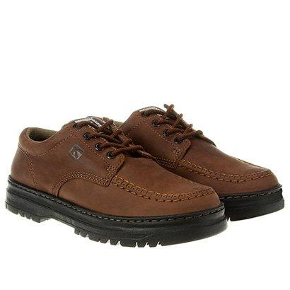 Sapato Casual Couro Kildare Pespontos