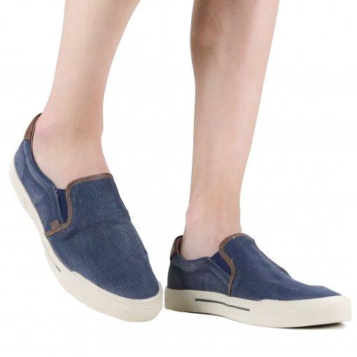 Sapato Democrata Mocassim Plot Jeans | Betisa
