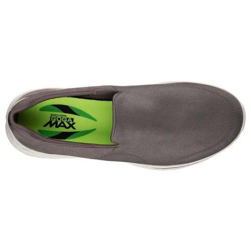 Sapato Go Walk 4 Khaki Skechers 54154 Xxm43