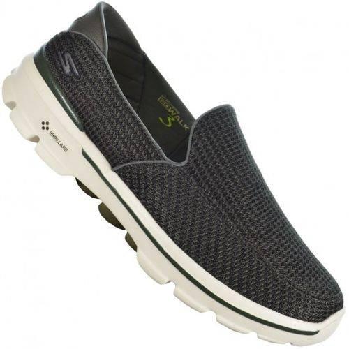 Sapato Go Walk 3 Oliva Skechers 53980 Xxm42