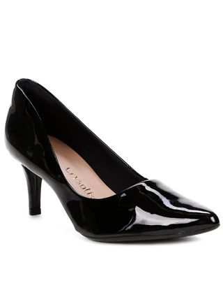 Tudo sobre 'Sapato Scarpin Feminino Crysalis Preto'