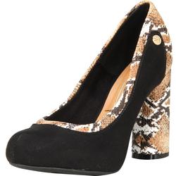 Sapato Vizzano Camurca Flex