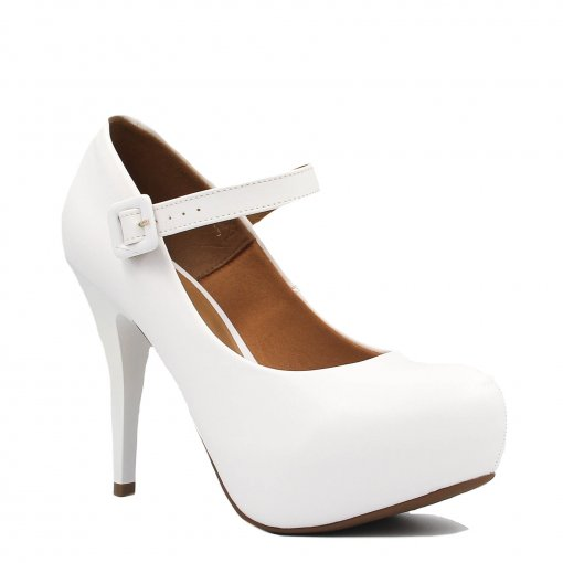 Tudo sobre 'Sapato Vizzano Noiva Scarpin Salto Alto Fivela 1143.304 | Betisa'