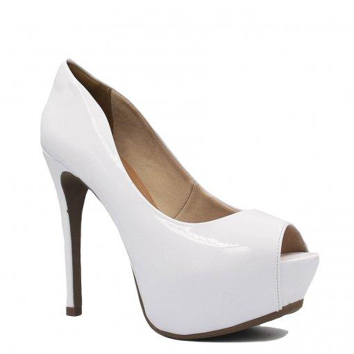 Tudo sobre 'Sapato Zariff Shoes Meia Pata Peep Toe 8913-037 | Betisa'