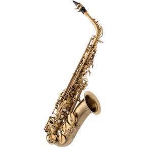 Saxofone Alto Eagle SA500 em Mib (Eb) com Case - Envelhecido (Vintage)