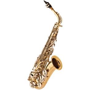 Saxofone Alto Eagle SA500 em Mib (Eb) com Case - LaqueadoNiquelado