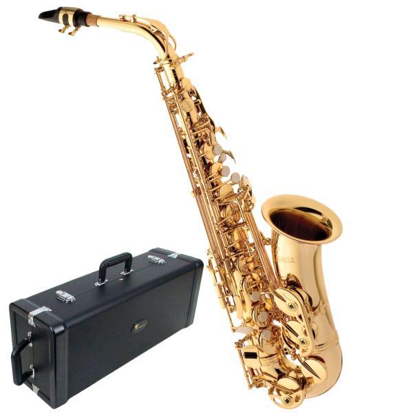 Saxofone Eagle Alto SA501 em Mib Laqueado com Case