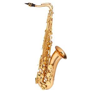 Saxofone Tenor Dual Gold Michael Wtsm48 Acompanha Pad Save e Case Mochila