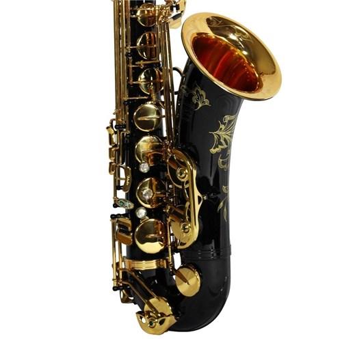Saxofone Tenor Jahnke Si Bemol Edition 10 Anos Jahnke Jsth102 Preto