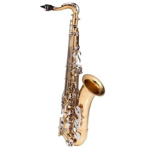Tudo sobre 'Saxofone Tenor Michael Wtsm49 Dourado em Bb C/ Case'