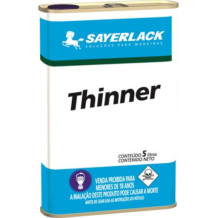 Sayerlack Thinner Especial 5 Litros 5 Litros