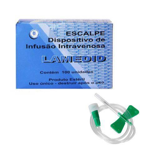 Scalp Solidor 21g (caixa com 100 Unidades)