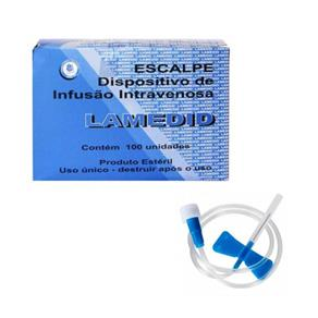 Scalp Solidor 23G (Caixa com 100 Unidades)