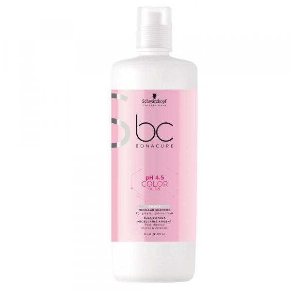 Schwarzkopf Professional BC Bonacure Color Freeze Silver - Shampoo 1000ml