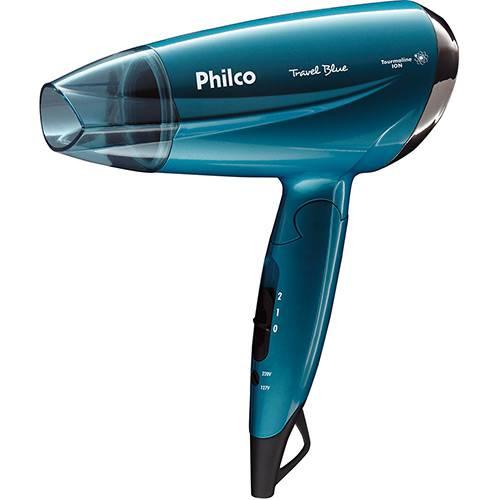 Secador de Cabelos Philco Travel Azul - Bivolt