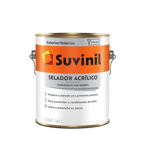 Tudo sobre 'Selador Acrílico Suvinil 3,6L'