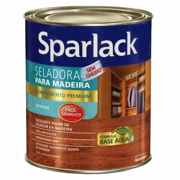 Selador para Madeira Base D'água Sparlack 0,9L