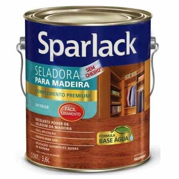 Selador para Madeira Base D'água Sparlack 3,6L