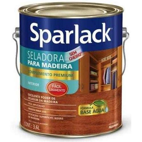 Seladora Sparlack para Madeira Base Dagua 1/4 900ml