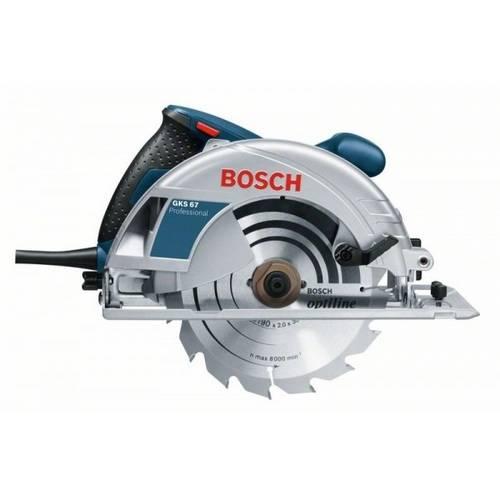 "Tudo sobre 'Serra Circular Gks 67 7"" 1600W - Bosch'"