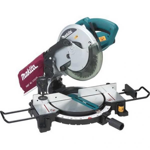 "Serra Esquadria Makita MLS100, 10"", 1500 Watts"