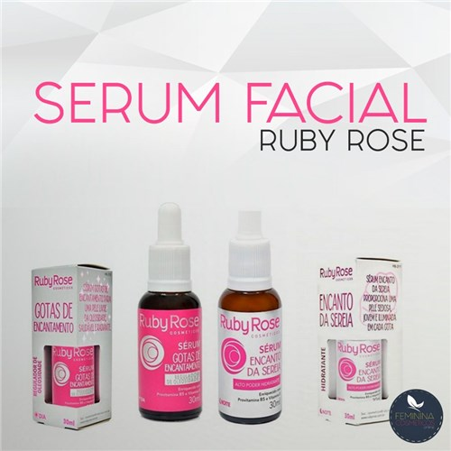 Serum Facial Ruby Rose (Gotas de Encantamento)