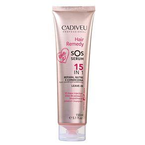 Sérum Leave-in Cadiveu Professional Hair Remedy SOS 15 em 1 150ml
