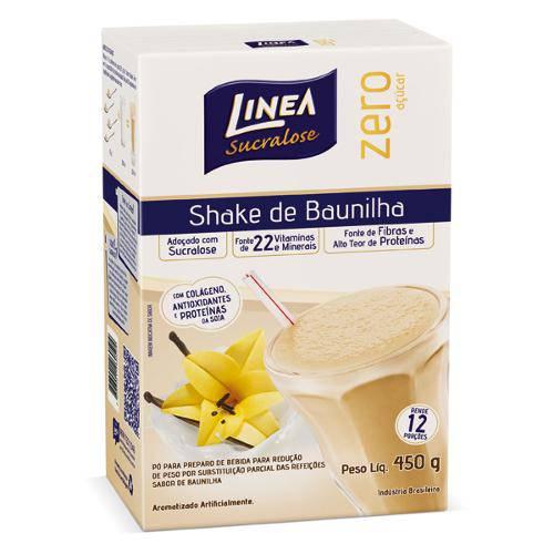Shake Linea Baunilha 450g