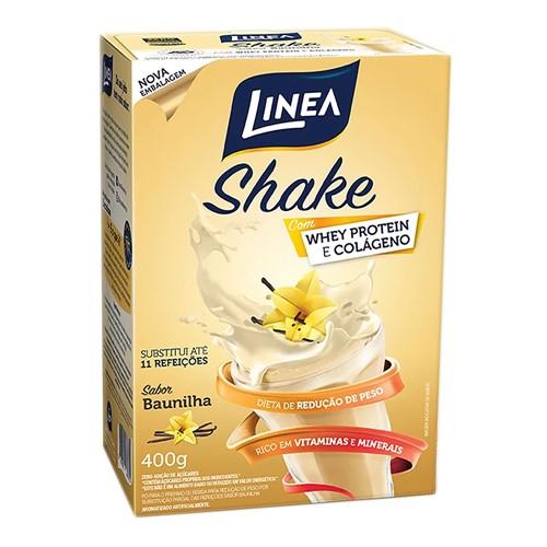 Shake Linea Sabor Baunilha 400g